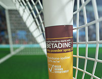 Betadine Digital Display Spots