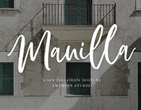 Manilla Script | Free Font