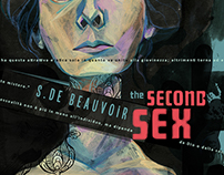 Book cover project- The second sex