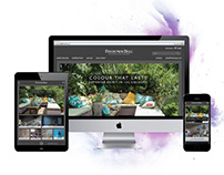 Farrow & Ball Responsive website design