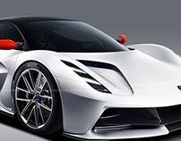2020 Lotus Evija White R