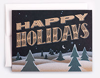 Downtime Collective Holiday Card Set