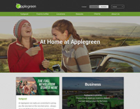 Applegreen Website Design