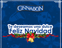 Merry Christmas and Happy New Year - Cinnabon Costa