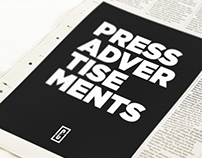 Press Advertisements