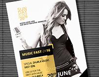 Music Fest Flyer