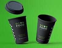 Фирменный стиль GO FOOD