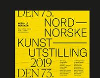 Nordnorske Kunstutstilling Exhibition Poster & Catalogu
