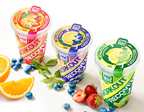 Sport drinks packaging design