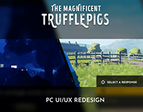 UX Redesign - The Magnificent Trufflepigs
