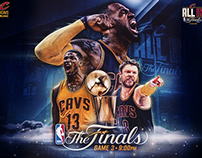 2015 NBA Finals Pump Up Images