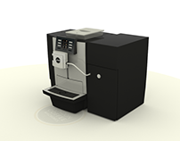 Jura X8 office coffee machine animation
