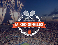 Mercedes Benz - Tinder Mixed Singles US Open