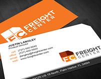 FreightCenter Rebranding Concept