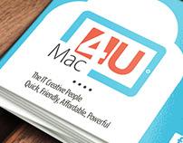 Mac 4U business cards 5x9 cm two sided