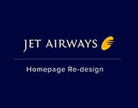 Airline Homepage - Redesign