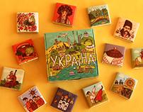 "Chocolate set ""Ukraine"""
