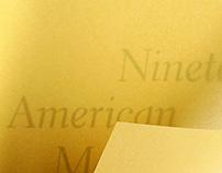 Nineteen American Masterworks
