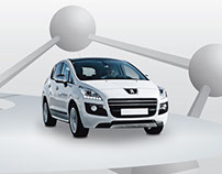 Peugeot 3008 launch event app