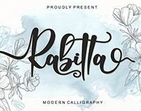 FREE | Rabitta Modern Calligraphy Font