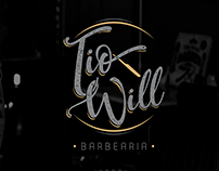 Branding Tio Will Barbearia