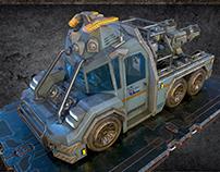 A.U.T. - CF2 (sci-fi truck)