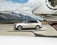 Rolls Royce Cullinan, Wyoming