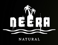 Neera natural logo design