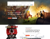 Gaming Landing Page - Free Download