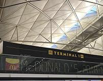Mcdonald's Airpoart Hoarding