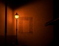 Ghost lights...