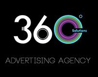 Logo Design-Advertising Company 360 Degrees