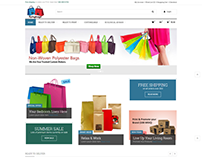 E-commerce Portal (Flying Bags)