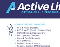 Active Life Services Flyer
