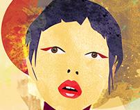 a strange geisha