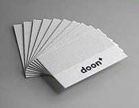 Doon + Business Identity Design