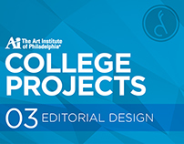 College Projects :: Editorial Design