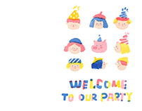 zine: welcome to our party