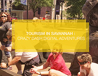 Tourism in Savannah : Crazy Dash Digital Adventures