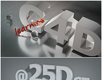 Learning Cinema 4D .. (first attempts .. )