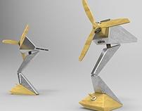 Table-fan designs for Kontra