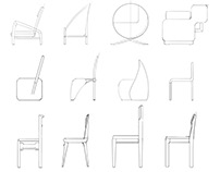 The Chairs model with cork