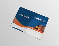 AdamF promotion materials