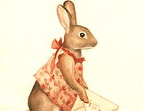 Children's Art & Illustration - Corresponding Bunny