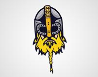 Nordic warrior Mascot