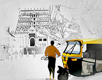 Thiru Anantha Puram - illustration