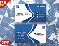 Premium Business Card Design PSD