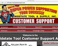 Midstate Tool's Niche Targeted Web Sites