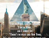 New York Quotes Poster