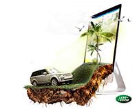 Land Rover - web site
